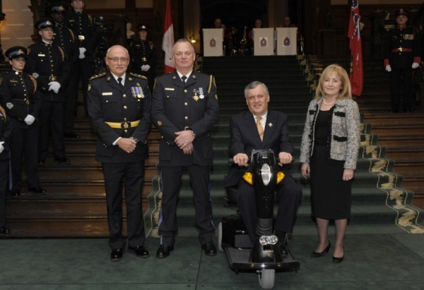 OPP COnstable Jacques Thibeault honoured for bravery