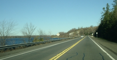 This is Highway 174 on November 7, 2001